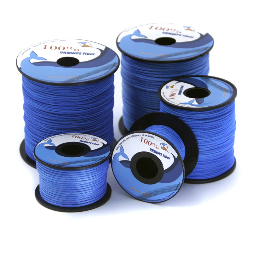 Emmakites 100 lb - pletena linija 3960 lb 100% UHMWPE Kite Line - Zabava in šport na prostem