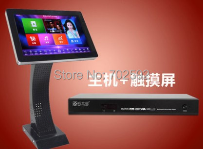brand  new karaoke jukebox  2TB with 19inch touch screen  support mobile wifi play songs