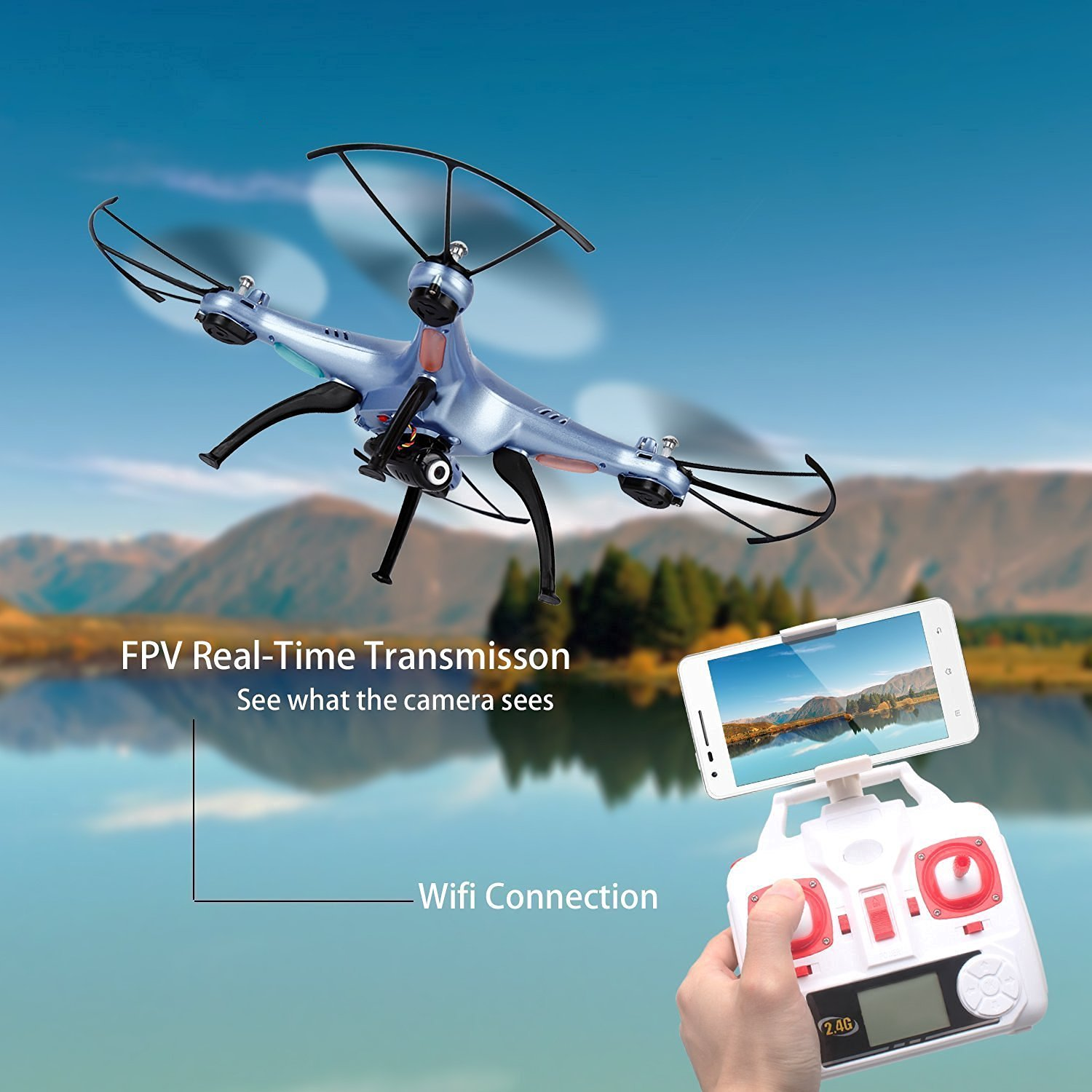 Syma X5hw 1 Wifi Fpv Drone With Hd Camera Live Video Altitude. 1 X Syma X5hw Quadcopter Wifi Camera Mobile Phone Retaining Clip Transmitter 4 Propeller Guide 2 Landing Gear Battery. Wiring. Drone Syma X5hw Wiring Diagram At Scoala.co