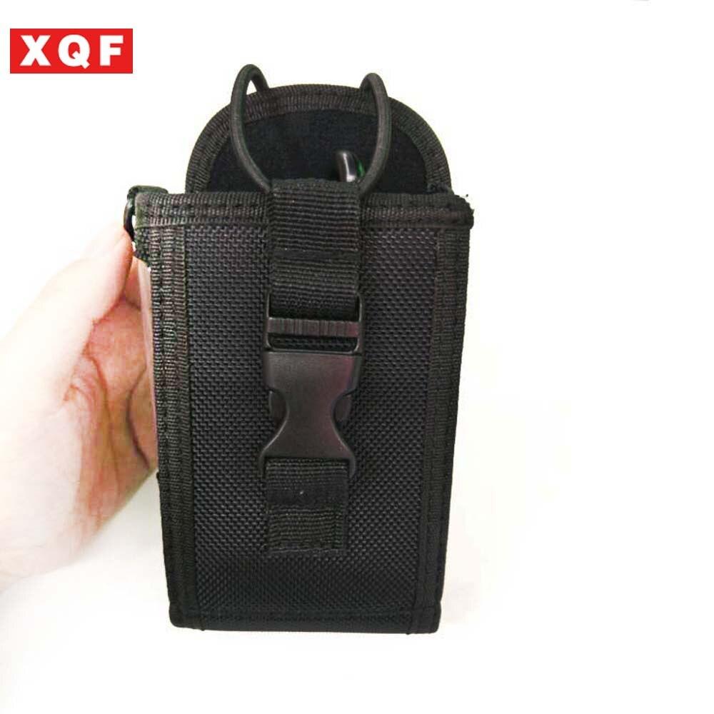 XQF Two Way Radio Pouch Bag Holster Case For Icom Motorola Kenwood Yaesu Midland Baofeng Walkie Talkie (Big Size)