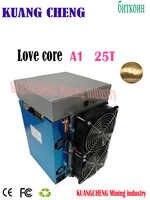Bitcoin ASIC minatore nuovo Amore core a1 25Th/s Prezzo è più basso di bitmain BTC antminer S17 minatore blockchain minatore minerario macchina