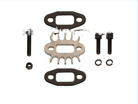 Exhaust pipe gasket set tuned pipe gasket Fits 30.5cc engine parts for 1/5 hpi baja 5b 5t 5sc