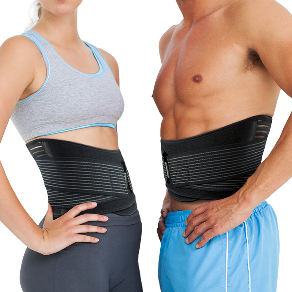 ②Premium Protecciones para espalda corsé y cintura cinturón para ...