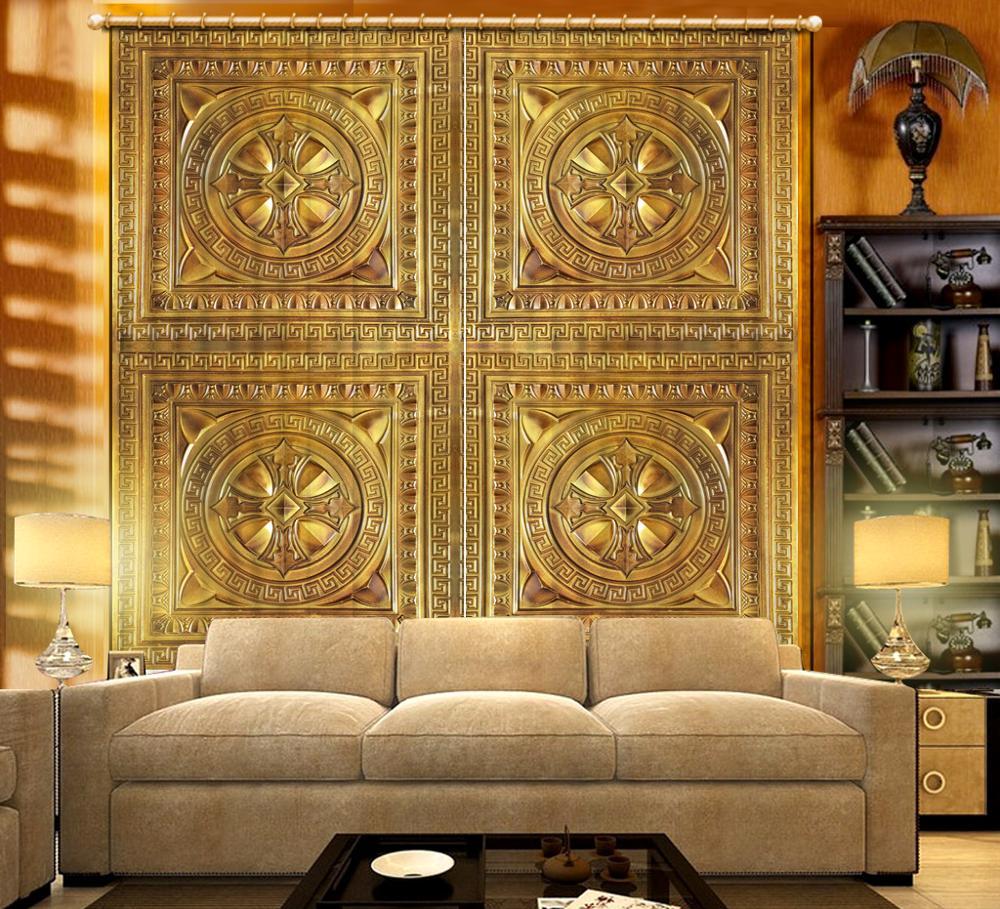 Disesuaikan 3d Tirai Nan Cantik Euporean Pola Tirai Jendela Kamar Anak Ruang Tamu Kamar Tidur Jendela Hotel Tirai Tirai Aliexpress