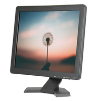 New Arrival Low Cost Touch Screen Monitor 17 Inch With 10 Points Touch Capacitive Touch Screen