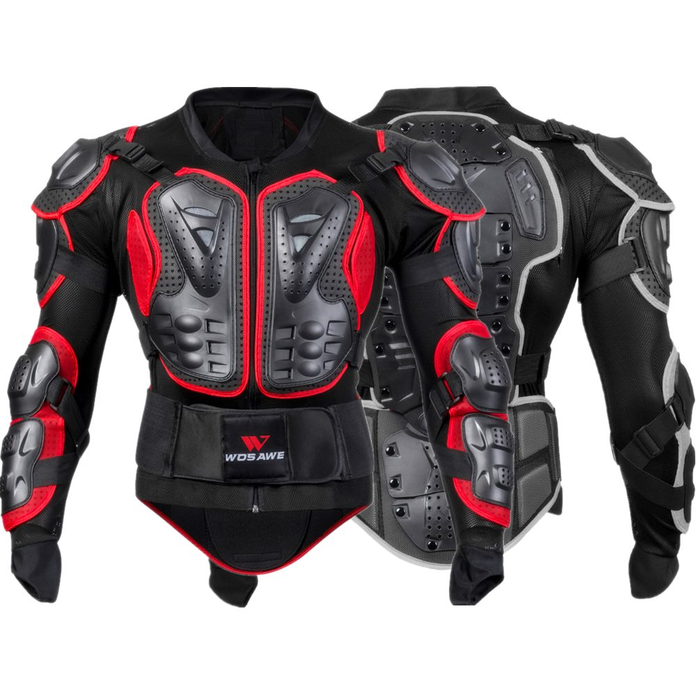 WOSAWE professionnel Motorcross armure hommes dos soutien corps vestes orthèse cyclisme moto Snowboard équipement de protection Ski armure