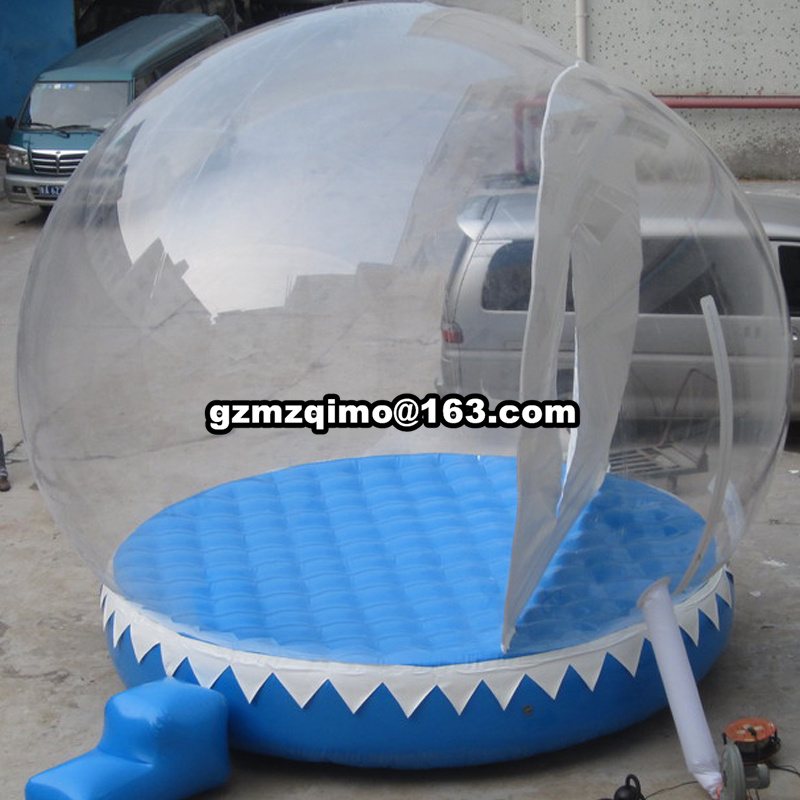 Inflatable Transparent Ball Advertising Snowball For Chrismas Decoration Inflatable Balloons Can Be CustomizedInflatable Transparent Ball Advertising Snowball For Chrismas Decoration Inflatable Balloons Can Be Customized