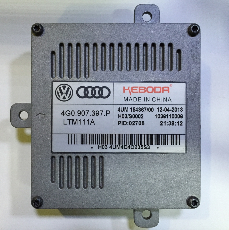 Used OEM LED Ballast  DRL Daytime Running Light Control Unit 4G0.907.397.P 4G0907397P