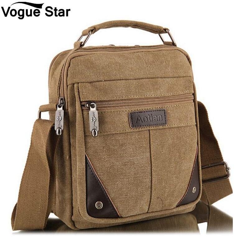 2019 Designer Brand Men's Fashion Crossbody Shoulder Bag Solid Male Casual Travel Bag Men Bags Vinatge Canvas Messenger Bags M5