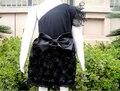 Платья для детей девочки платье принцессы дети черные розетки вечернее платье для детей KP-EDS06