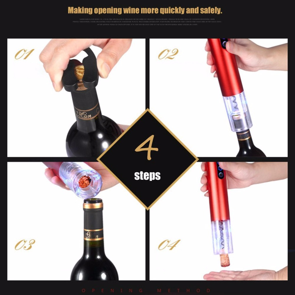 Electric Wine Opener 4