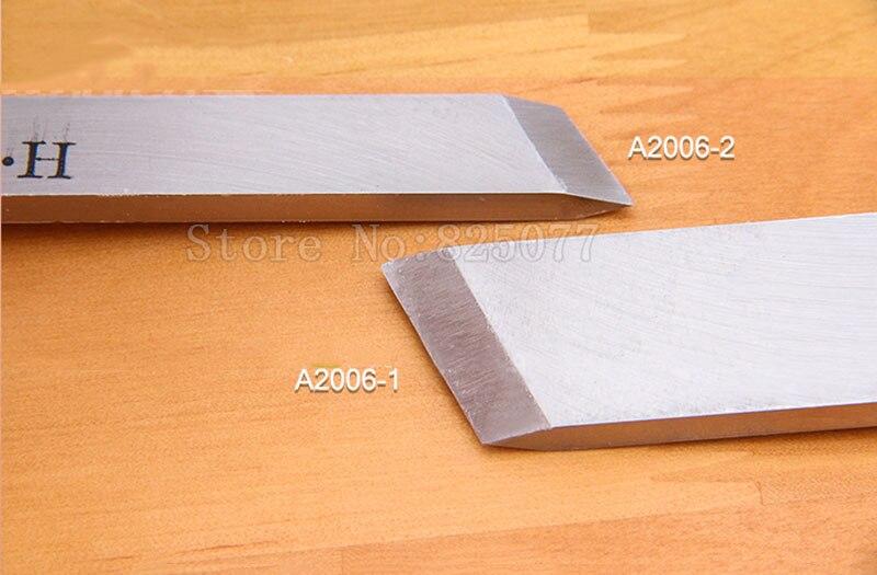 Купить с кэшбэком DIY Turning Tool Woodworking Lathe Tool Skew Knife,Chisels for Woodcarving,A2006-1 / A2006-2 JF1625