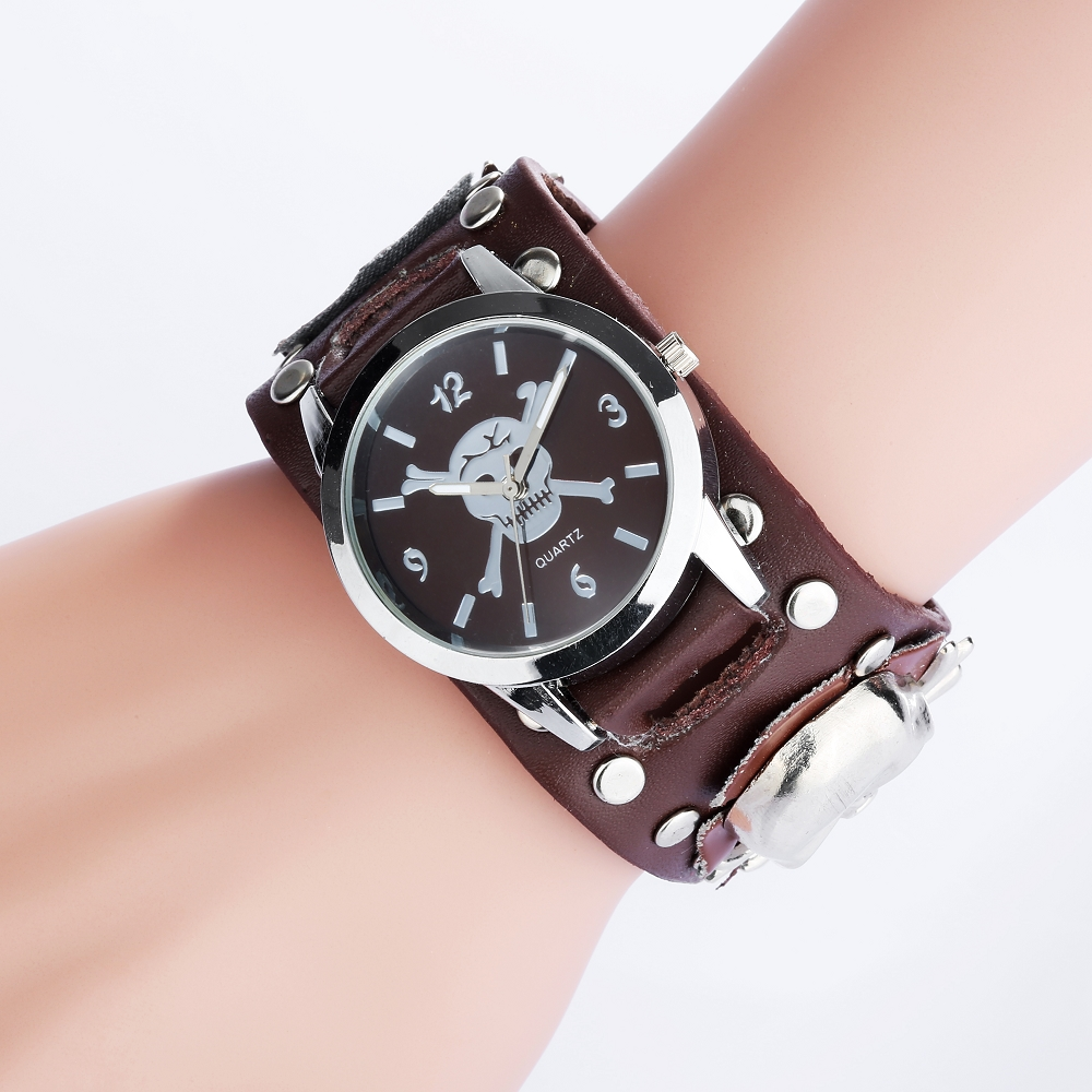 ₪Vintage Design Rock ⊱ Punk Punk Style Watches Men Retro ...