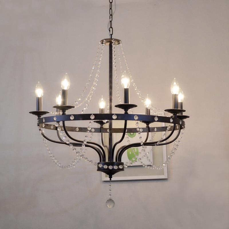 Restaurant Bar Counter Bookstore Lamp led chandelier lights Edison Loft Style Vintage Industrial Retro chandelier Lamp Light