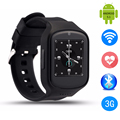 Heart Rate Monitor Smartwatch Wristwatch Z80 Quad Core CPU MTK6580 Android 5.1 Watch Phone Smart Watch With 3G GPS Camera Phone