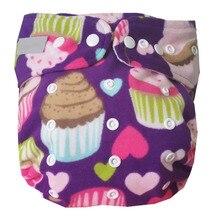 Многоразовые Моющиеся Водонепроницаемые детские подгузники с принтом для детей постарше, один размер, Карманные детские подгузники на 25-45 кг