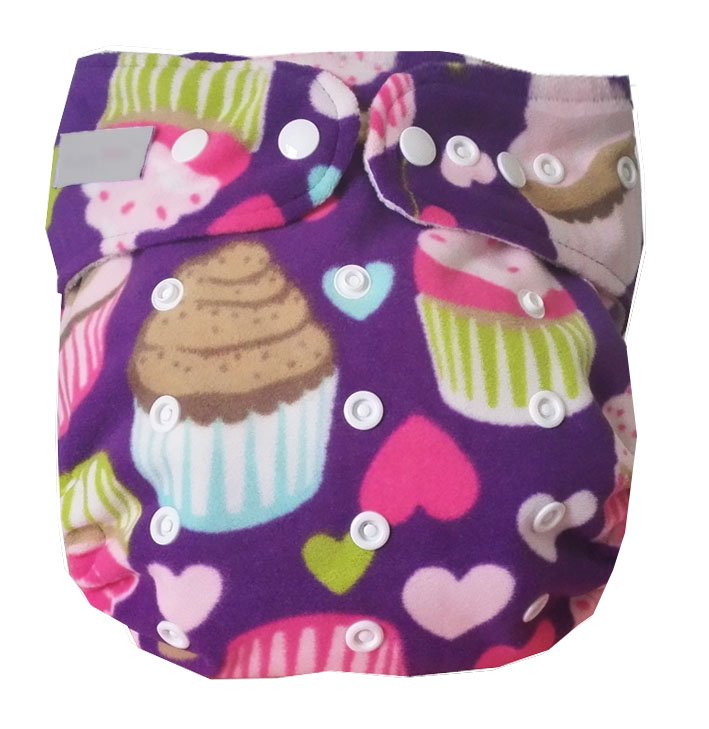 Large Size Reusable Washable Waterproof Printed Older Children Baby Cloth Diaper One Size Pocket Baby Nappies For 25-45kg