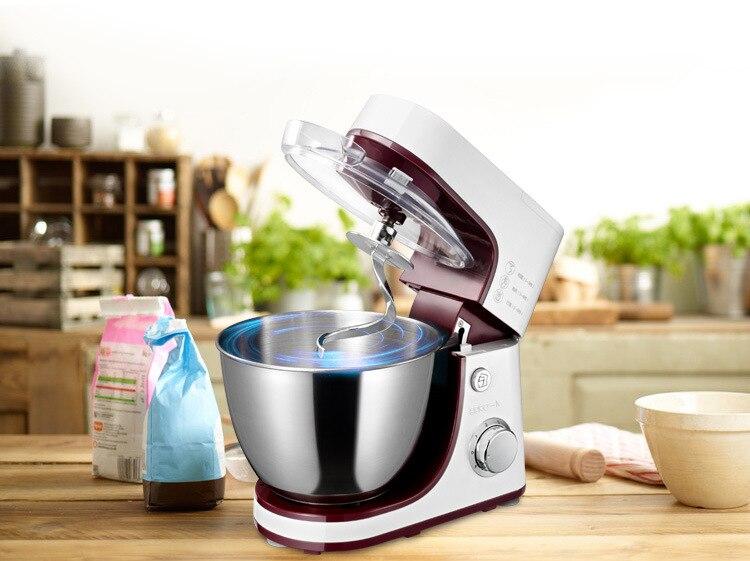 4.2 L électrique batteur sur socle, mixeur, alimentaire mélangeur, gâteau/oeuf/pâte mélangeur, milk-shakes, lait mélangeur