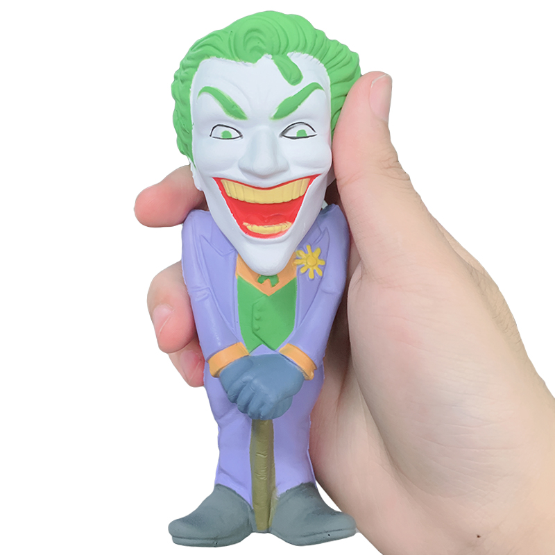 Jumbo Super Hero Joker Squishy Simulation Cartoon Slow Rising Cream Scented Squeeze Toy Stress Relief For Kid Xmas Gift Toy