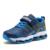 Alta calidad de las muchachas niños shoes casual invierno cálido zapatillas para entrenadores de luz de malla transpirable de cuero suave niños pisos