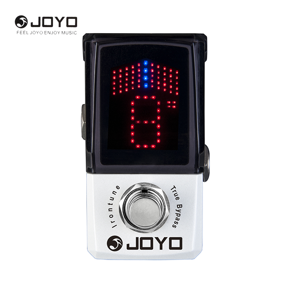 JOYO JF-326 IRONMAN Mini Tuner Guitar Effect Pedal Tuner Stompbox High Sensitivity Precision True Bypass joyo ironman digital delay guitar effect pedal guitarra stompbox 4modes copy analog modulation filtered true bypass