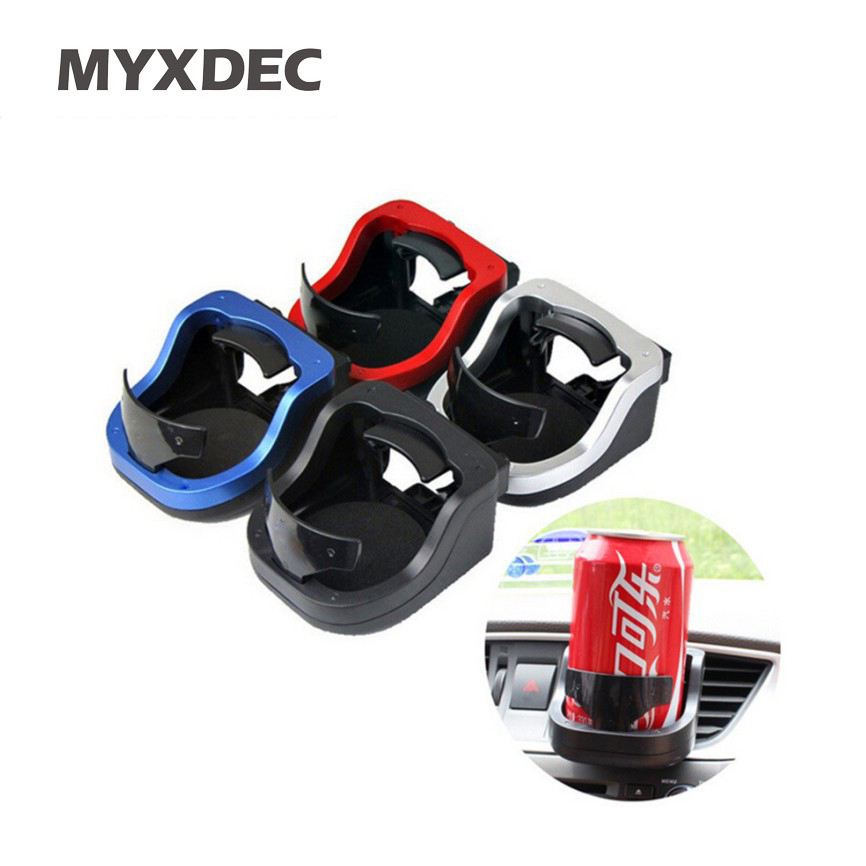Car Outlet Water Cup Holder Plastic Drink Holder Air Conditioning Outlet Cup Holder Car Cup Holder Outlet Freeshipping car swivel air outlet mount holder for htc one s black