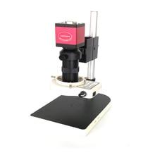8X-130X увеличение объектива 13MP 720 P 60FPS разъем HDMI VGA промышленный цифровой видео микроскоп камера ремонт телефона