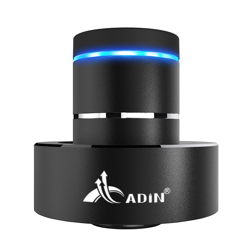 ADIN 26W Metal Vibration Bluetooth Subwoofer Speaker NFC Touch HIFI Portable Mini Wireless Speaker 360 Stereo Sound Loudspeakers a9 mini wireless bluetooth speaker w led hands free tf usb subwoofer loudspeakers portable 3 5mm mp3 stereo audio music player