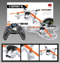 rc drone 8943 2.4G 4CH 6Axis rc drone with camera LCD Display remote control drone rc model rc toys for child best gifts