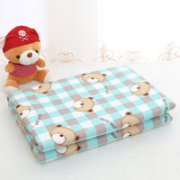 Water Proof 150 200cm Baby Changing Pads Reusable Big Size Baby Dipper Nappy Cotton Bed Sheet