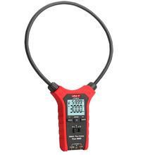 купить UT281E 3000A AC True RMS Flexible Clamp Meter True RMS Flex Clamp Meter Resistance/Frequency/Inrush Current Test по цене 7554.57 рублей