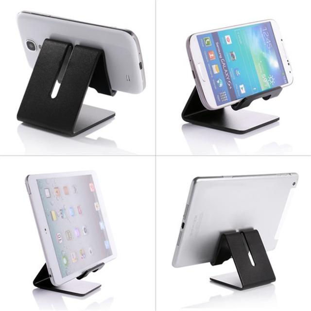Universal Aluminum Metal Tablet Stand Phone Holder Tripod