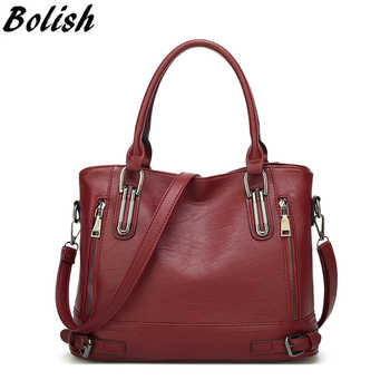 Fashion European and American Style Women Totes Simple Patchwork Large Capacity Single Shoulder Bag Female Shopping& Travel Bag - DISCOUNT ITEM  50% OFF All Category