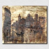 Abstrakte Venedig ölgemälde moderne bild ölgemälde leinwand kunst für büro raumdekoration wand bilder