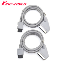 UNS/EU Stecker RGB Scart Kabel Video HD HDTV Kabel für W ii Konsole Spiel