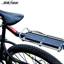 цена на Bicycle Rear Shelf Aluminum Alloy Mountain Road Bike Luggage Bag Carrier Cargo Racks Cycling Back Seatpost Bag Holder bike parts