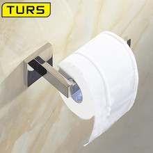 SUS 304 Stainless Steel Toilet Paper Holder Bathroom Toilet Holder For Roll Paper Towel Square Bathroom Accessories 304 stainless steel towel rack square toilet paper holder roll holder bathroom accessories wholesale