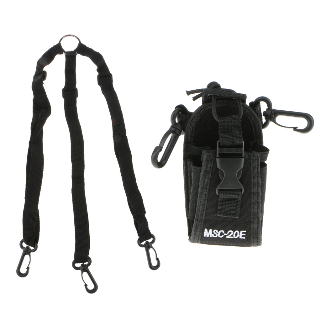 Holster Msc-20e-Case Nylon 3-In-1 Pouch-Bag Radio-Holder Handwork Multi-Function Meterial