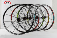 Original Newest RT RC5 Mountain Bike Bicycle Six Star Style 5 Bearing Carbon Fiber Hub Super Smooth Wheel Wheelset 26 /27.5 er
