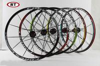 Original Newest RT RC5 Mountain Bike Bicycle Six Star Style 5 Bearing Carbon Fiber Hub Super Smooth Wheel Wheelset 26 /27.5 er