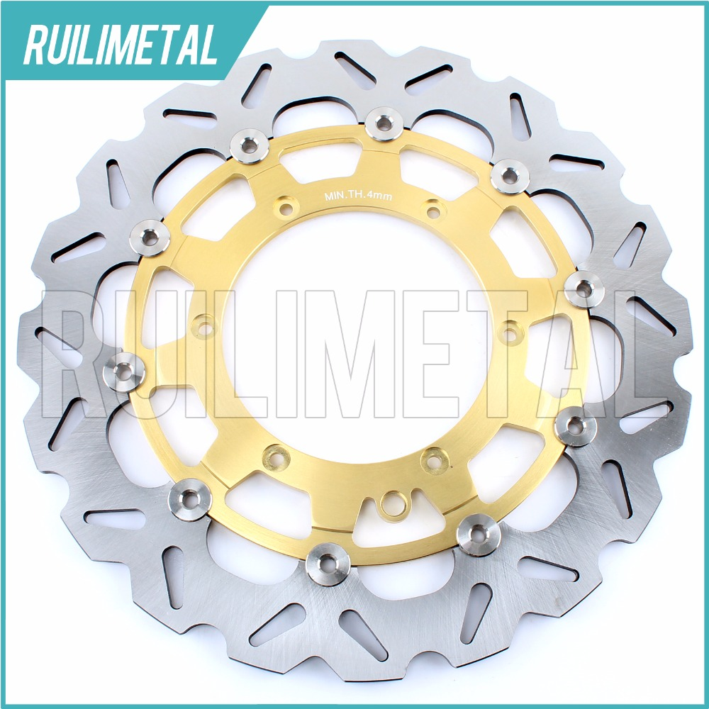 320mm oversize Front Brake Disc Rotor for KTM STING 125 EXC 200 GS 300 MX SMR 450 525 LC4 ENDURO 600 DUKE 620 95 96 97 98 high quality 270mm oversize front mx brake disc rotor for yamaha yz125 yz250 yz250f yz450f motorbike front mx brake disc