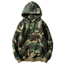 Streetwear Hooded Pullover Army Green Camouflage Hoodies Men Swag Hip Hop Male Sweatshirts Camo Casaul Oversize Hoodie Fleece(China)