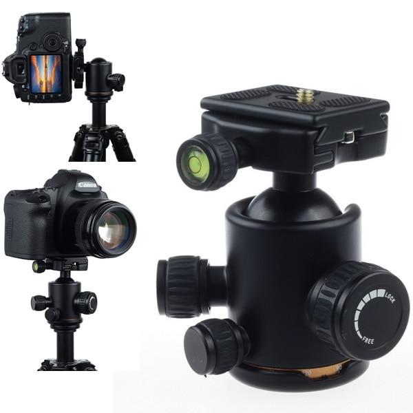 New Arrival Camera Tripod Metal Micro Ball Head W/Quick Release Plate For Tripod Camera