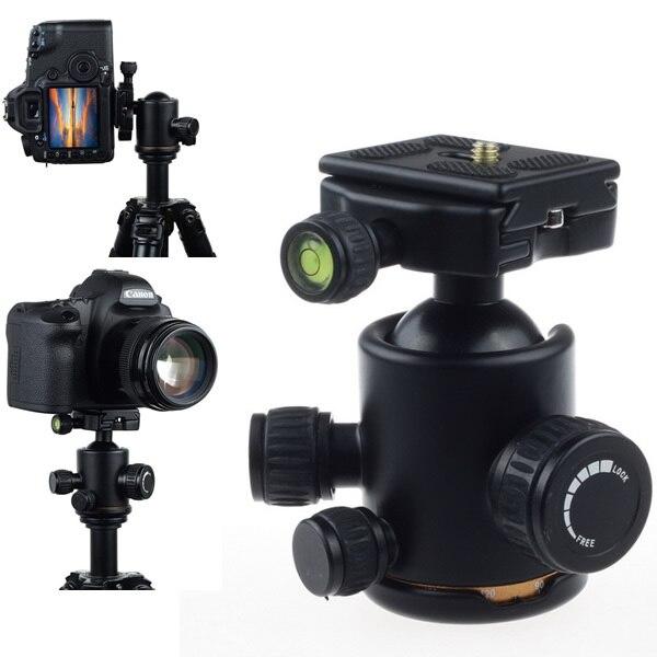 Nouvelle Arrivée Caméra Trépied En Métal Micro Rotule W/Plateau Rapide pour Trépied Caméra