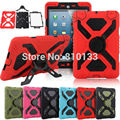 Pepkoo Spider Extreme Military Heavy Duty Waterproof Dust Shock Proof For Ipad 2 Stand Case For Ipad 3 For iPad 4