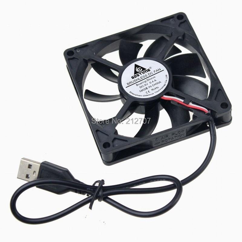 10 шт./лот Gdstime 8015 S USB вентиляторы компьютерный корпус для ПК 80x80x15 мм 5 в 80 мм вентилятор охлаждения постоянного тока кулер