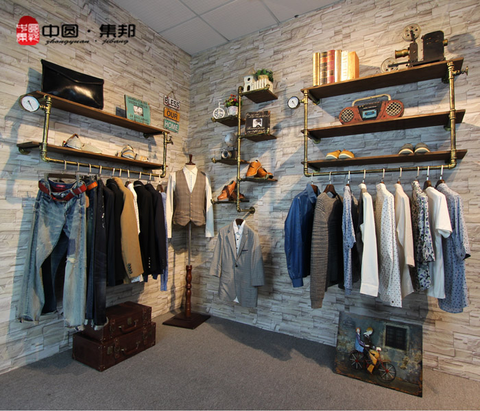 compare prices on store wall displays shopping buy