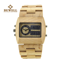 BEWELL Woche Dual Uhr