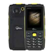 "Neue Original OEINA XP6 Pro 2,4 ""4SIM Telefon Quad-Band Vier Sim-karte 4 SIM Bluetooth MP3 MP4 FM Kamera Starke Taschenlampe"