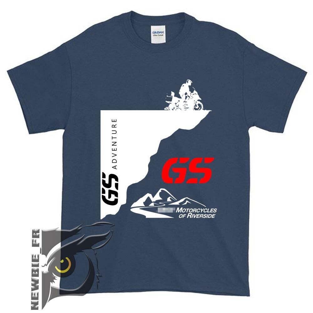 T-shirt Men's 2019 New Motorcycle Adventure 1200GS GS Shirt R 650 800 1150 1200 Motorrad Fans Tees